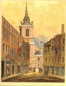 7.30-9pm – Open ringing* – Aldgate, St. Botolph