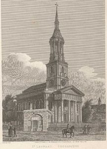 9.45-10.30am – Shoreditch, St. Leonard (provide whole band)